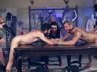 Female domination sex video featuring Bella Rossi, Cherry Torn and Veruca James.